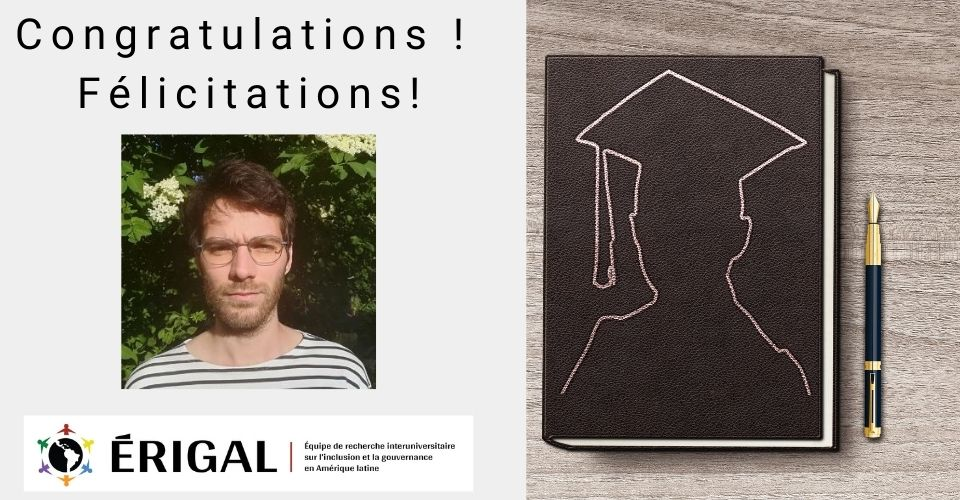 ROMAIN BUSNEL, MEMBER OF ÉRIGAL, SUCCESSFULLY DEFENDS HIS DOCTORAL THESIS!
